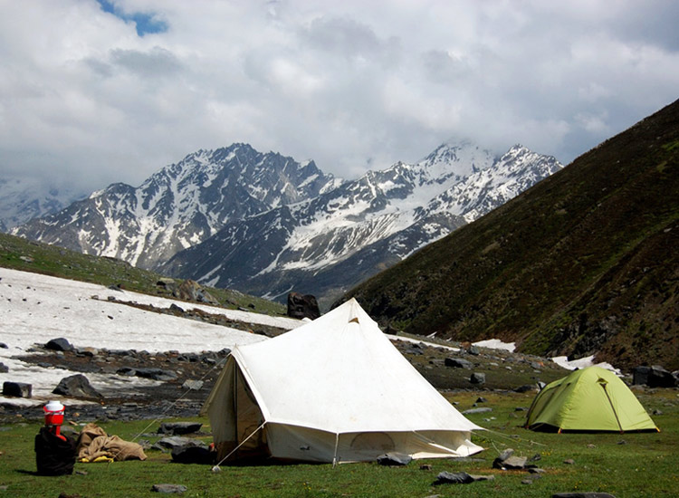 Camping on Leh Manali Highway